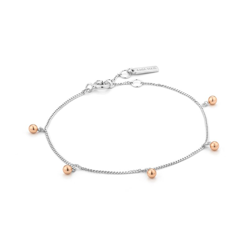 Ania Haie Orbit Drop Balls Bracelet