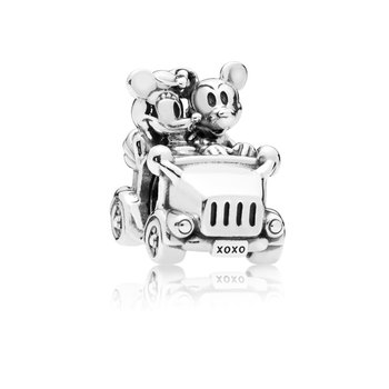 Disney, Mickey Minnie Vintage Car Charm