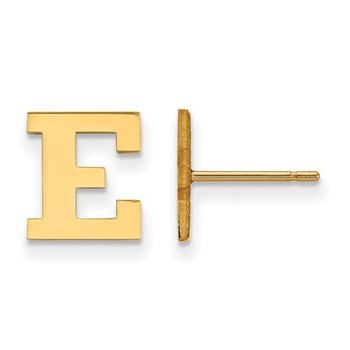 Gold Eastern Michigan University NCAA Earrings