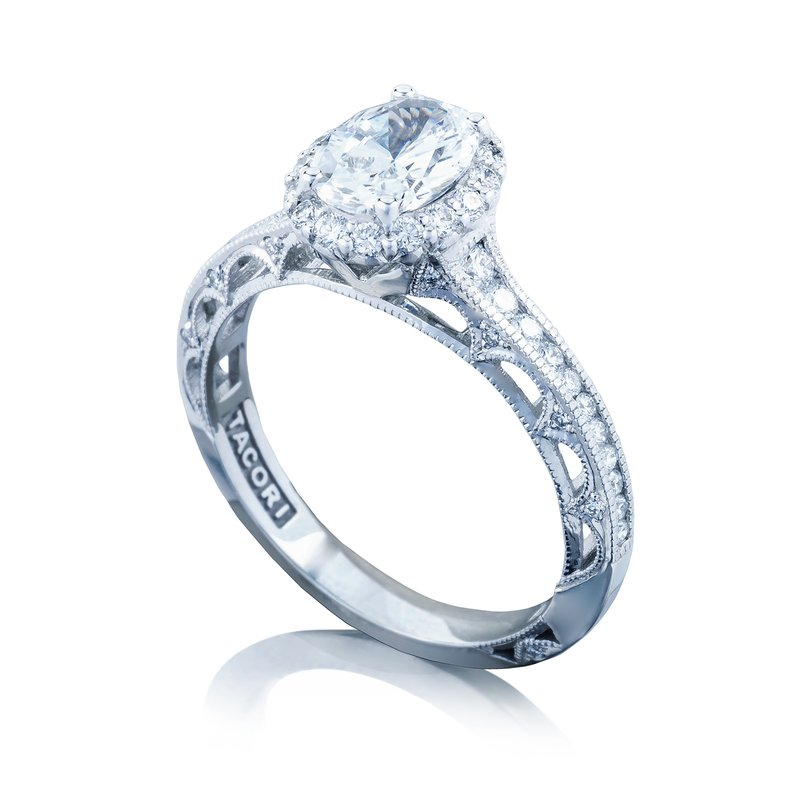Kassab Jewelers: Tacori 2618OV75X55
