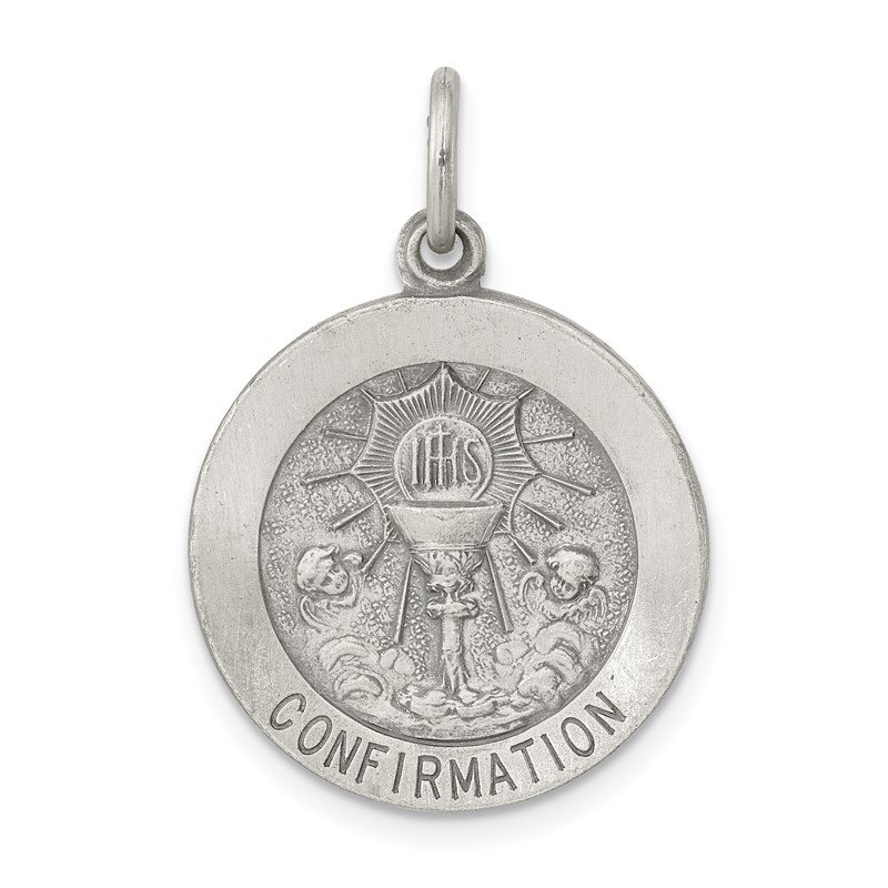 Quality Gold Sterling Silver Confirmation Medal Charm