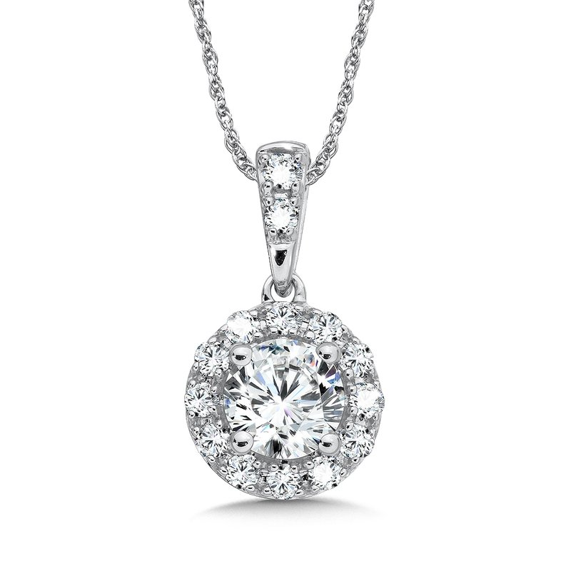 SDC Creations Diamond Pendant in 14k White Gold