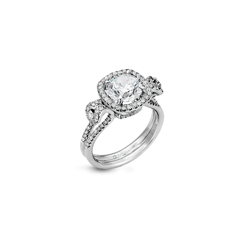 Zeghani ZR495 ENGAGEMENT RING