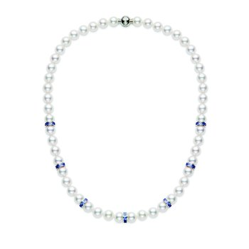 Ocean Akoya Cultured Pearl Necklace