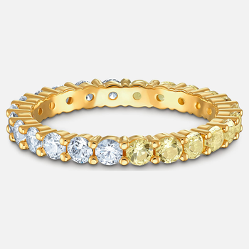 Vittore Half Ring, Gold tone, Gold-tone plated
