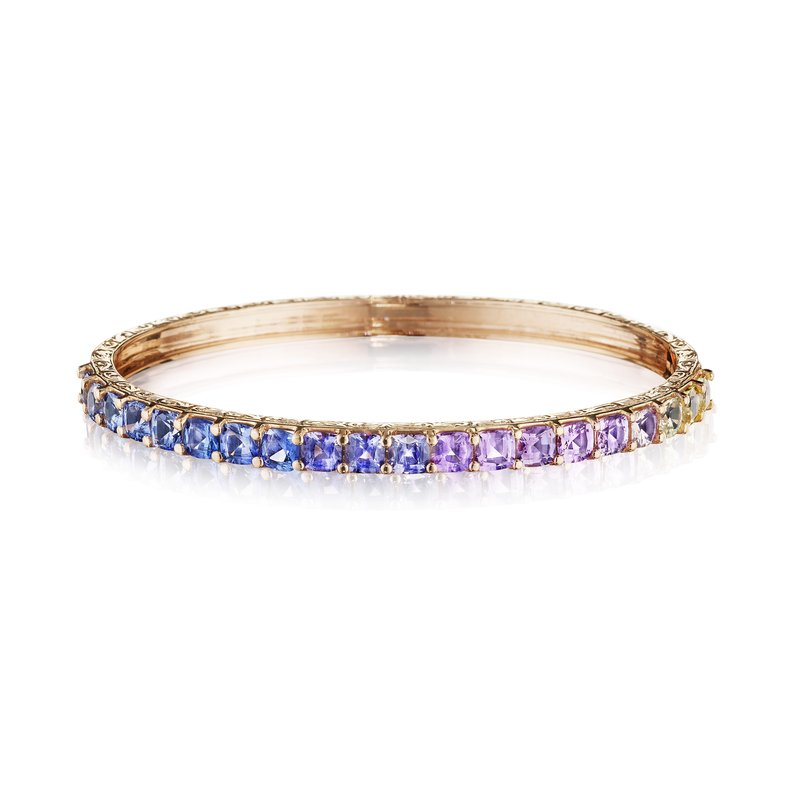 Penny Preville Cushion Cut Watercolor Bangle