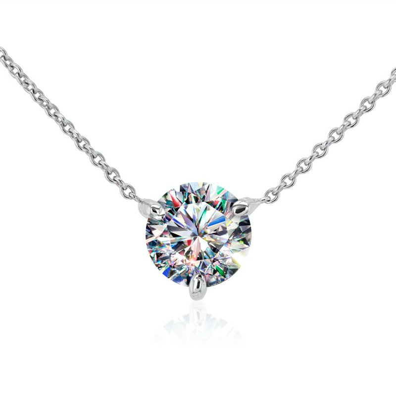 Facets of Fire Diamond Necklace