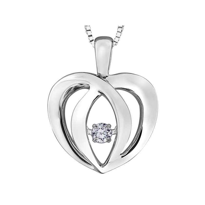 Diamond Days Pulse™ Diamond Solitaire Pendant