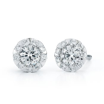 Kwiat Sunburst Diamond Earrings