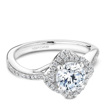 Noam Carver Modern Engagement Ring B176-01A