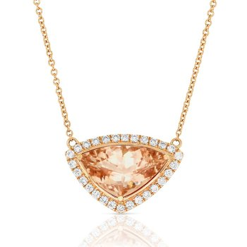Velvet Morganite Necklace