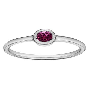 Pink tourmaline Ladies Ring