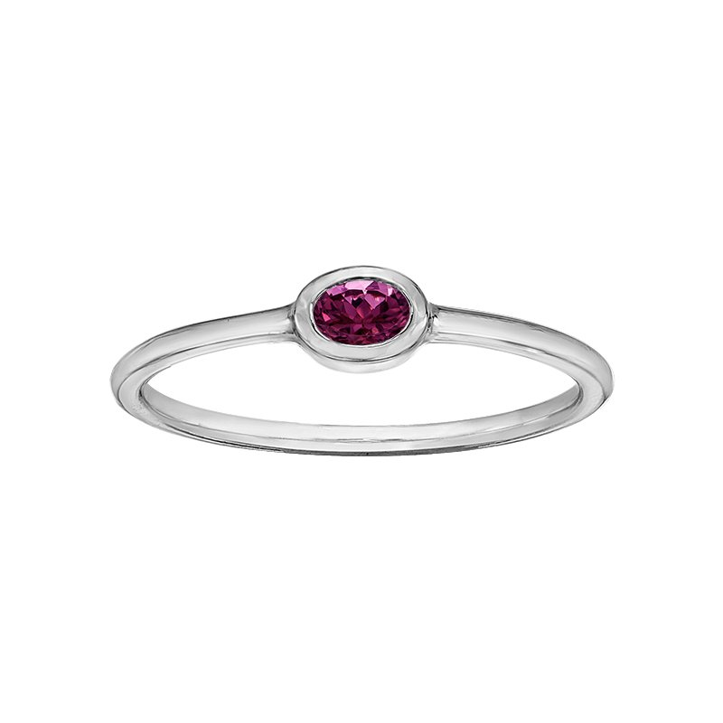 Lasting Treasures™ Pink tourmaline Ladies Ring