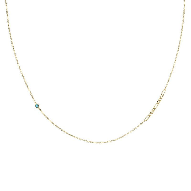 Tacori Fashion It Figaros Gem Necklace w/ Swiss Blue Topaz