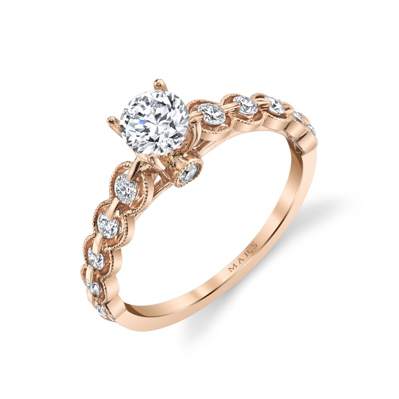 MARS Jewelry - Engagement Ring 27090