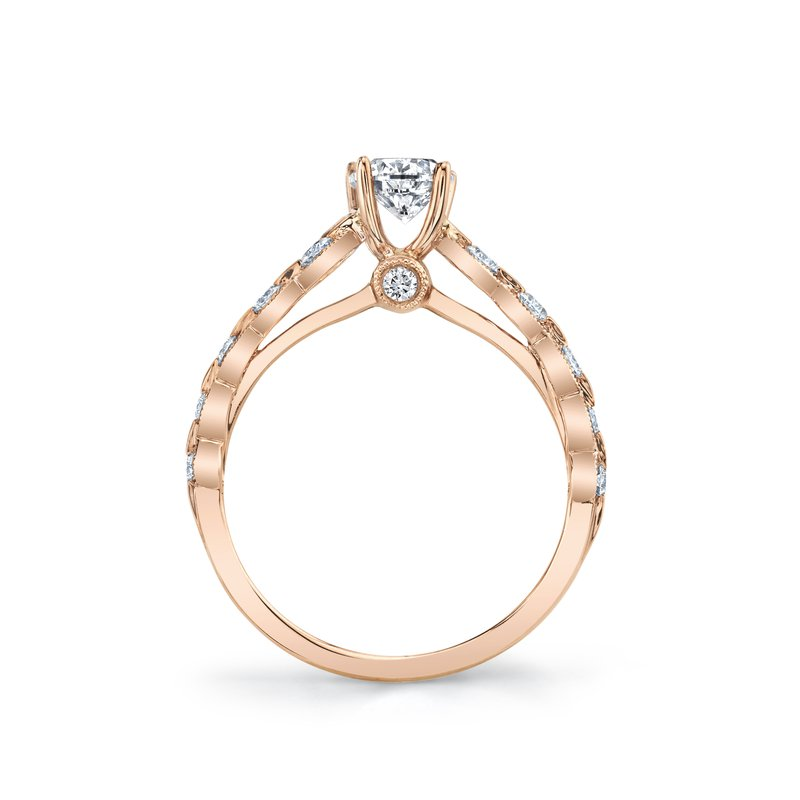 MARS 27090 Engagement Ring, 0.30 Ctw.