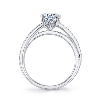 MARS A11 Diamond Engagement Ring 0.26 Ctw.