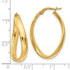 Leslie's Leslie's 14K Oval Polished Earrings