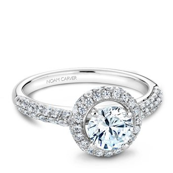 Noam Carver Vintage Engagement Ring B071-01A