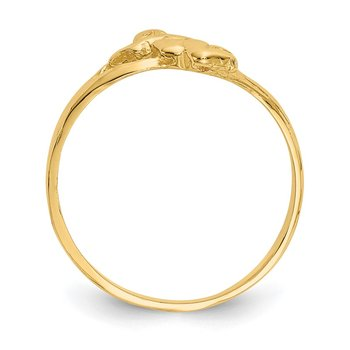 14k Angel Baby Ring