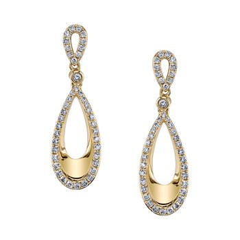 MARS 26578 Fashion Earrings, 0.58 Ctw.
