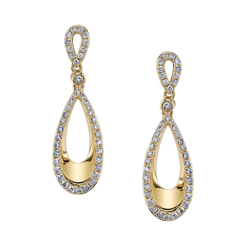 MARS Jewelry MARS 26578 Fashion Earrings, 0.58 Ctw.