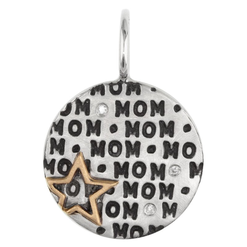 Heather B. Moore Star Mom Round Charm