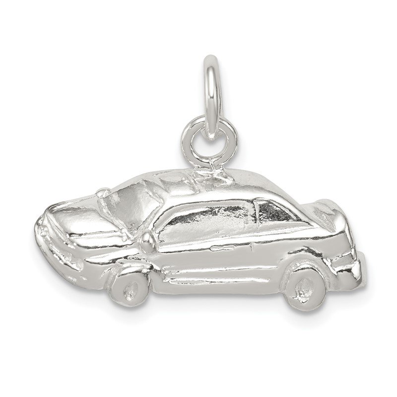 Quality Gold Sterling Silver Car Charm
