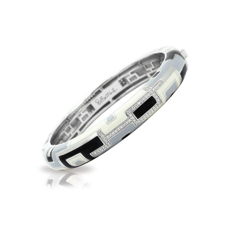 Belle Etoile Art Deco Stackable Bangle