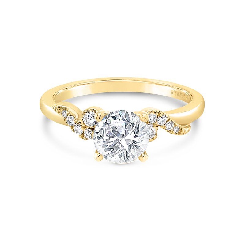 Kirk Kara Romantic Diamond Engagement Ring