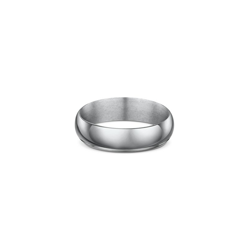 Dora 2mm High Dome Wedding Band