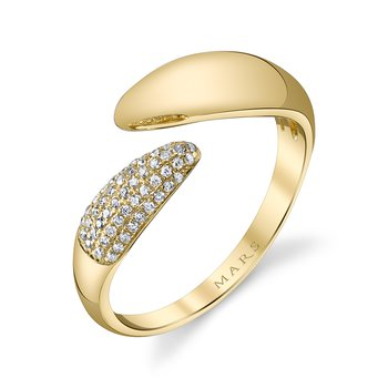 MARS 26808 Fashion Ring, 0.14 Ctw.