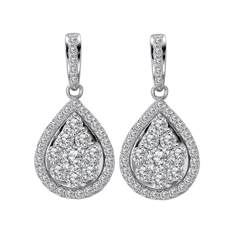 Radiance Dangle Diamond Earrings