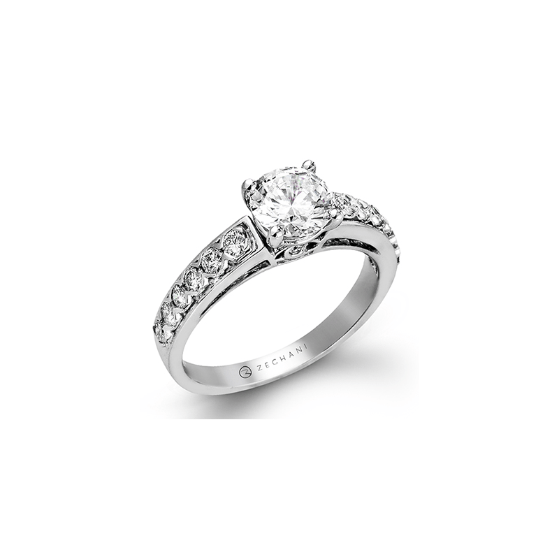 Zeghani ZR419 ENGAGEMENT RING