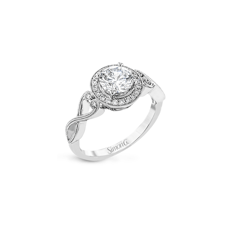 Simon G TR686 ENGAGEMENT RING