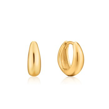 LUXE HUGGIE HOOP EARRINGS