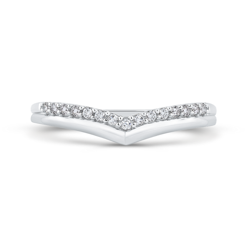 Essentials 10K White Gold .14 Ct Diamond Fashion Ring