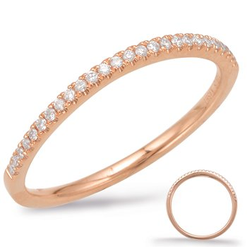 Rose Gold Curve Matching Band