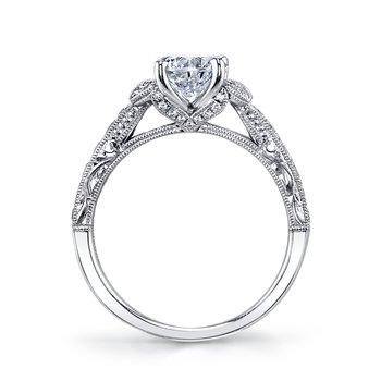 MARS 26093 Diamond Engagement Ring, 0.42 Ctw.