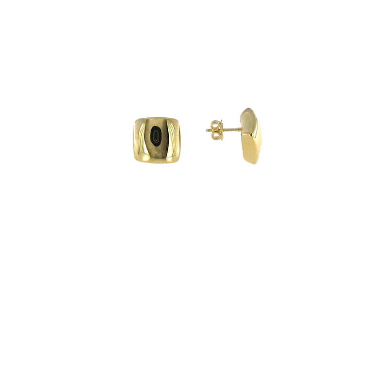 Roberto Coin 18KT GOLD SQUARE EARRINGS