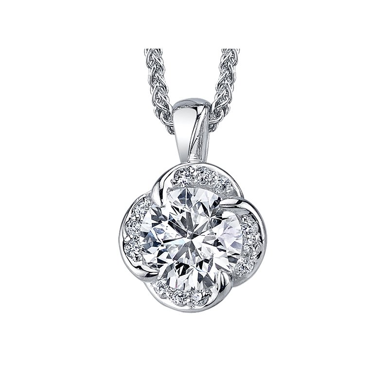 Maple Leaf Diamonds Maple Leaf Diamond Pendant