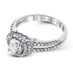 Zeghani ZR1178 ENGAGEMENT RING