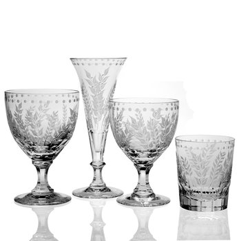 Fern Stemware Collection