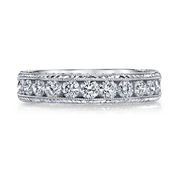 MARS 14144 Diamond Wedding Band, 0.75 Ctw