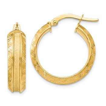 Leslie's 14k Gold Hoop Earrings
