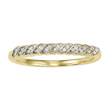 10KY Diamond Mixable Ring