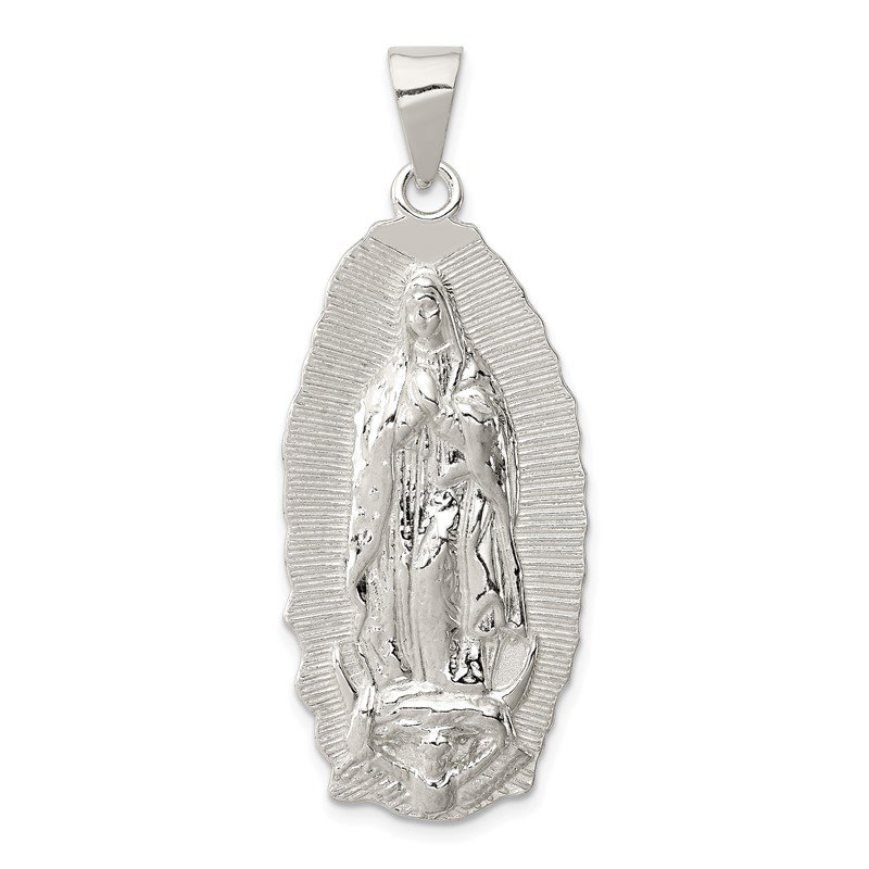 Quality Gold Sterling Silver Polished Religious Pendant
