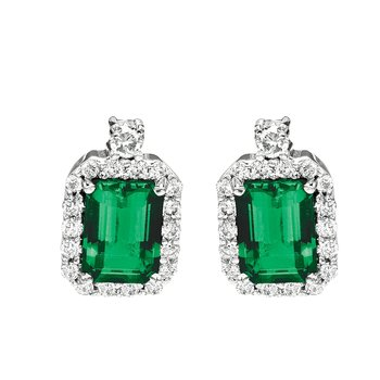 Emerald Earrings-CE2267WEM