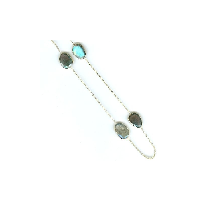 David Harvey Signature Labradorite Station Necklace