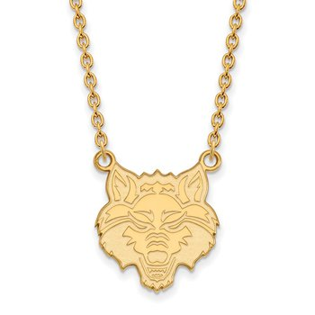 Gold-Plated Sterling Silver Arkansas State University NCAA Necklace
